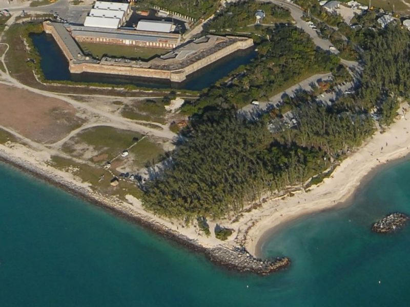 Fort Zachary Taylor Beach Nourishment