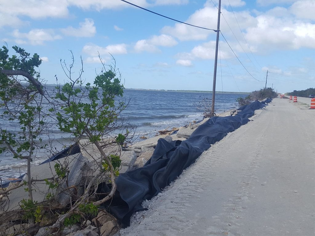 A1A Scour and Wave Load Analysis for Seawall