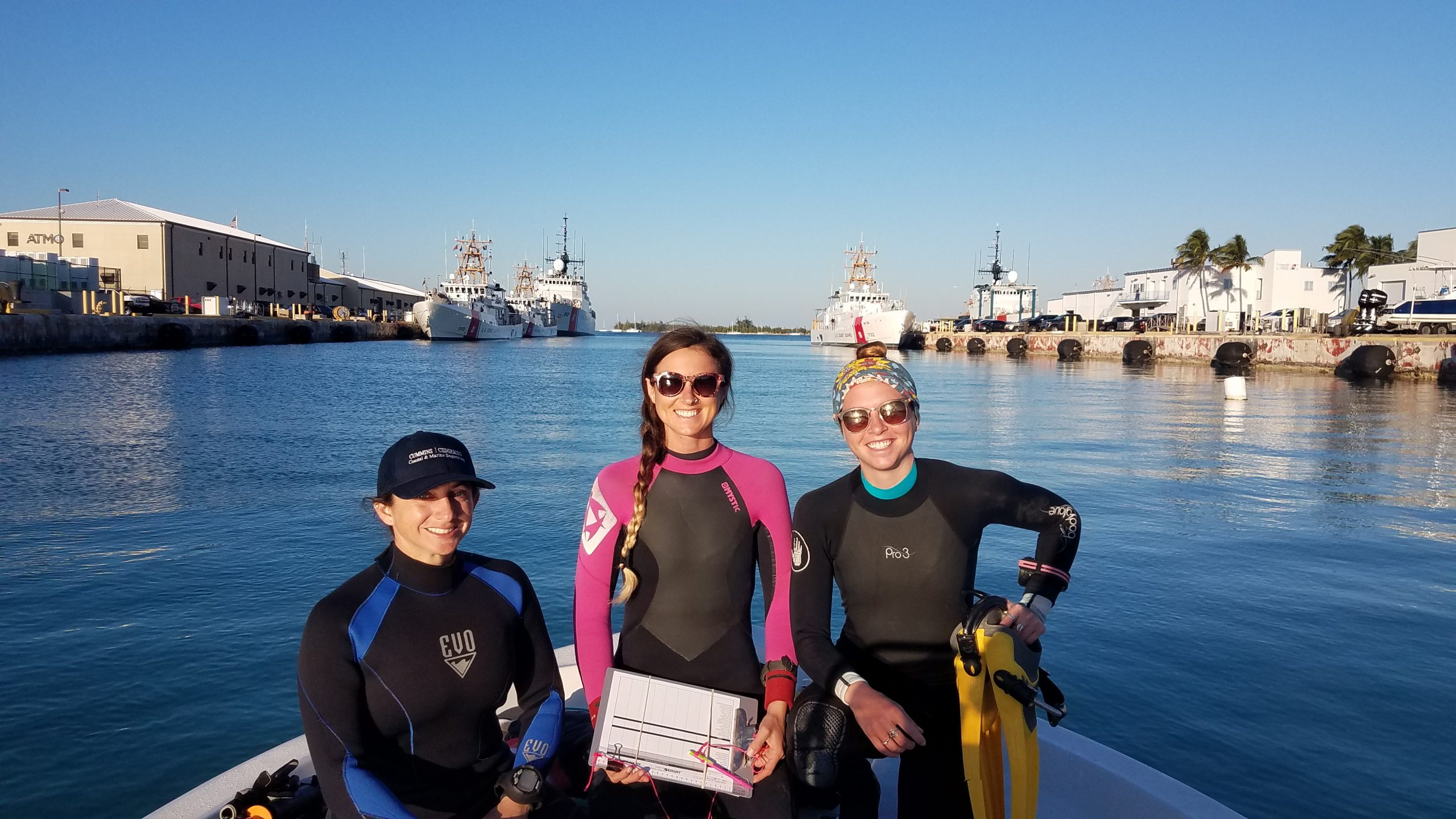 Women Led Dive Team