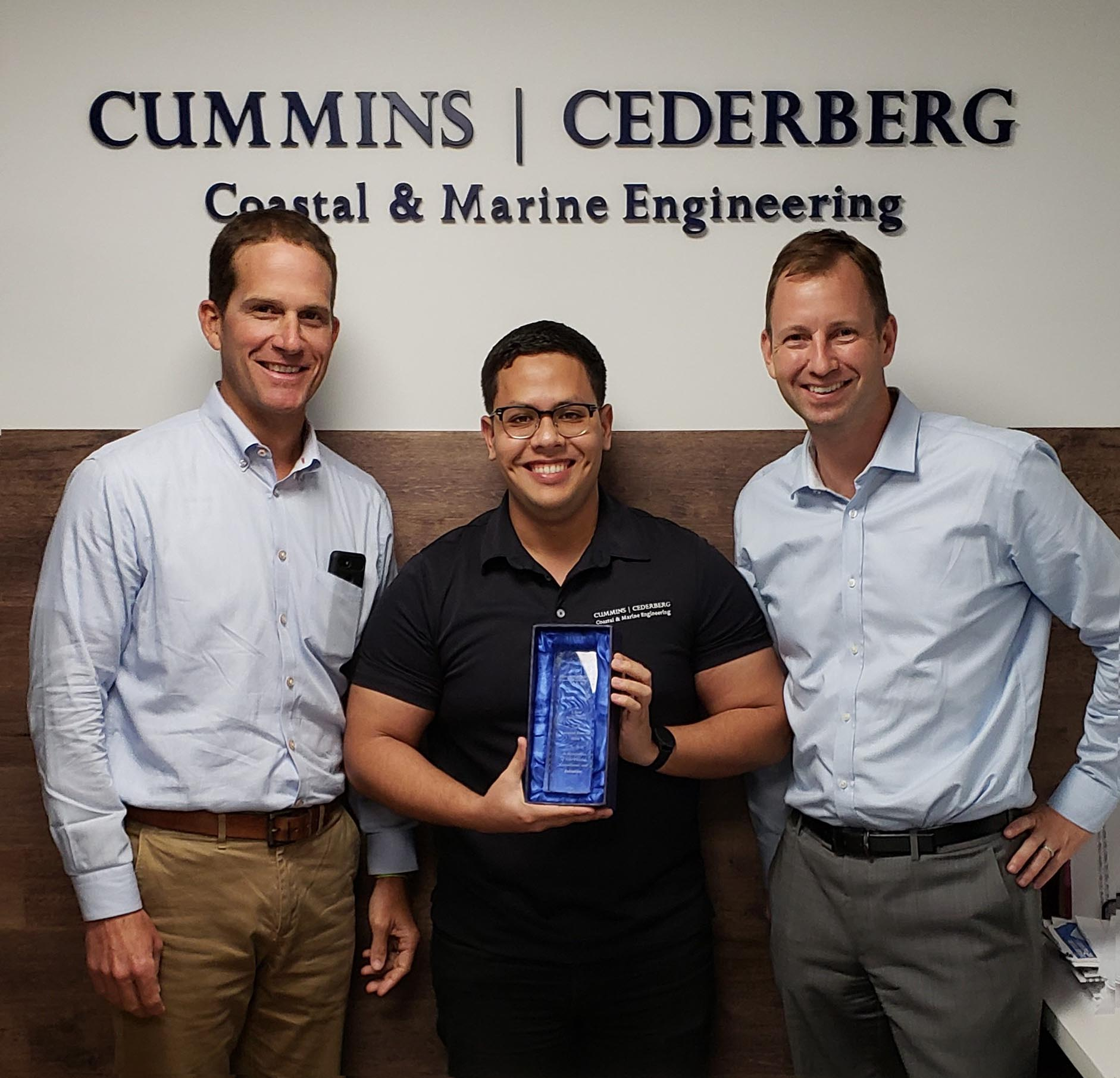 Leonard Barrera Celebrates 5 Years at Cummins Cederberg