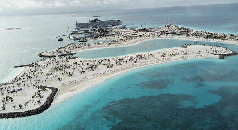 First guests arrive at Ocean Cay MSC Marine Reserve