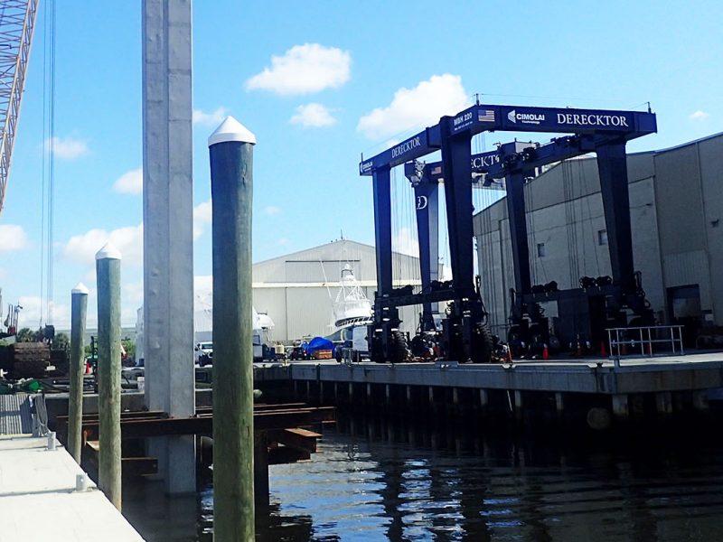 Derecktor Shipyard Travel Lift Pier Extension