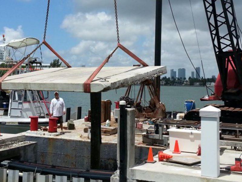 Sunset Harbour Yacht Club Repairs
