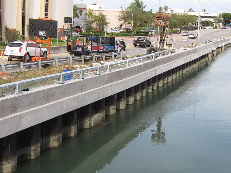 Dade Boulevard/Collins Canal Shoreline Stabilization