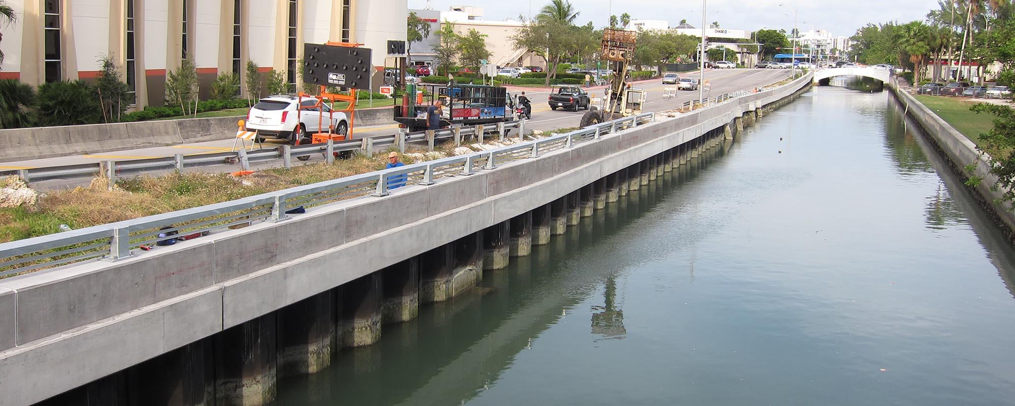 Dade Boulevard/Collins Canal Shoreline Stabilization