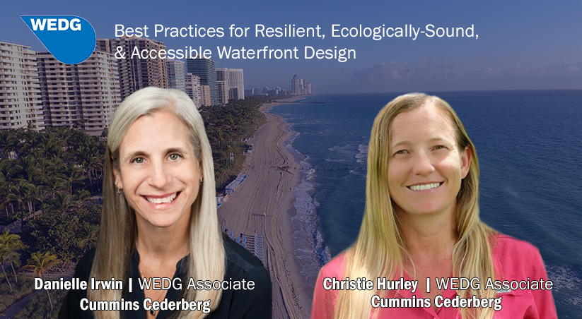 WEDG Associate Certification Increases Best Practices for Waterfront Design