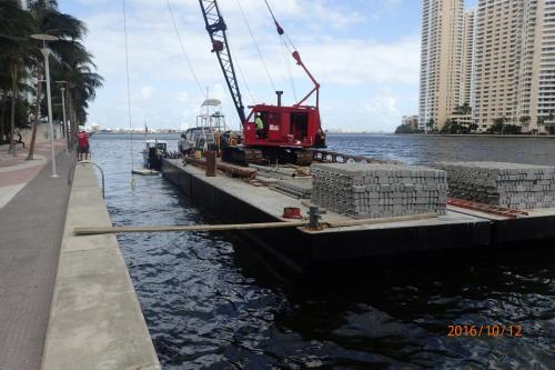 concrete mat install